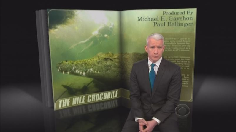 Diving with Nile Crocodiles and Sharks: Anderson Cooper is Braver