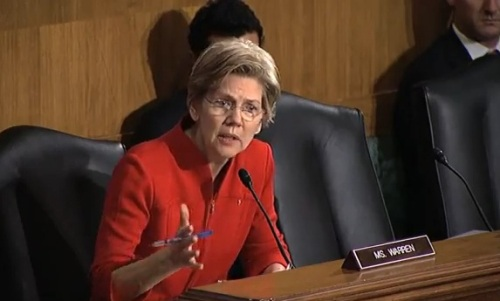 2013.02.14_Elizabeth_Warren_1st_anking_Committee_Hearing