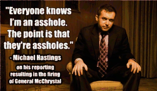 Michael Hastings Assholes Cartoon 1